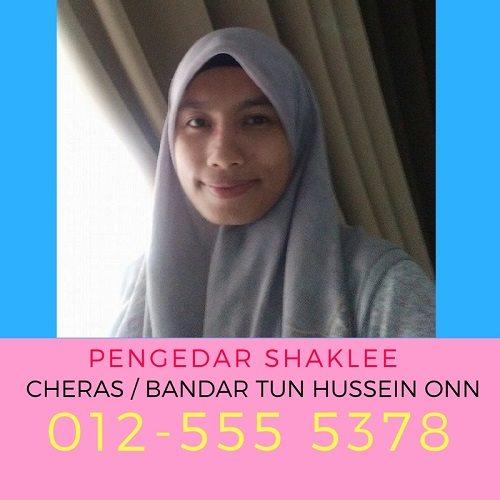 Pengedar Shaklee Cheras – Bandar Tun Hussein Onn Dan Alam Damai